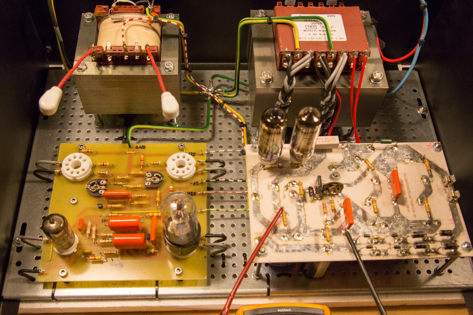 50W 6P45S monoblock tube amplifier   Kaizer Power Electronics