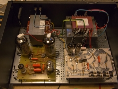 Tube amplifier 6P45S  transformer direction