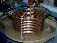 Tesla Coil DRSSTC design guide primary coil helical