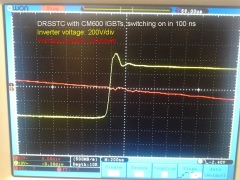 Tesla Coil DRSSTC design guide IGBT CM600 waveform