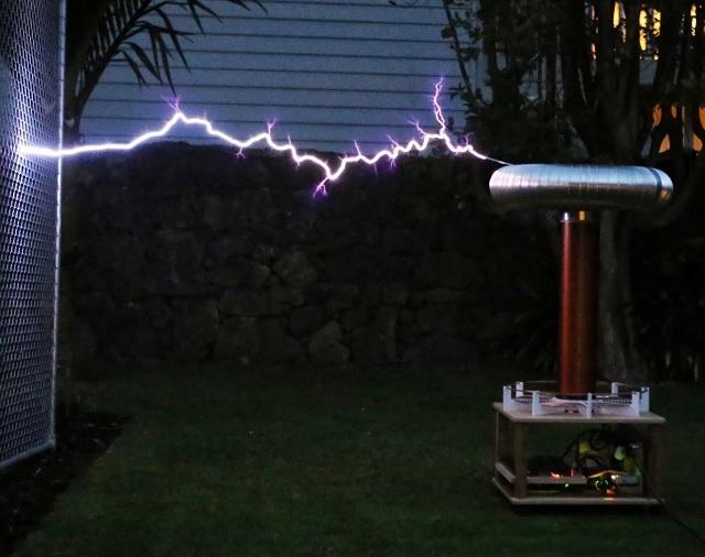 Tesla Coil DRSSTC design guide hydron