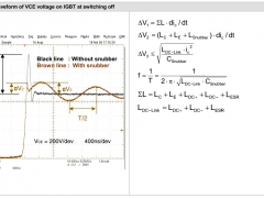 Tesla Coil DRSSTC design guide  snubber waveform