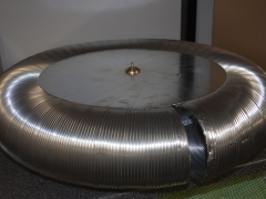 Tesla Coil DRSSTC design guide topload flexible duct