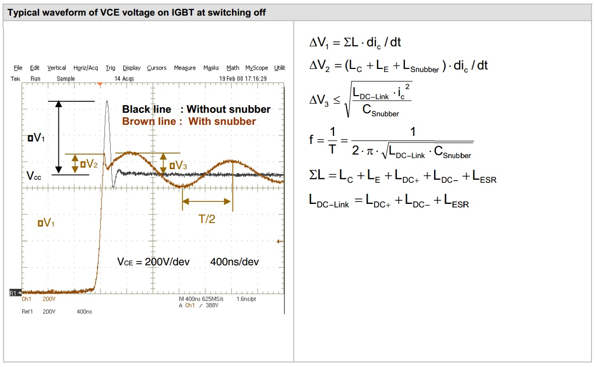 Snubber Capacitor Selection For Tesla Coils And Inverters Kaizer The Switch Snubberwaveform