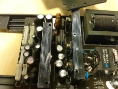 LCD TV repair bad capacitor