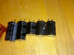 LCD TV repair bad capacitors