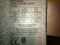schneider altivar frequency inverter marking