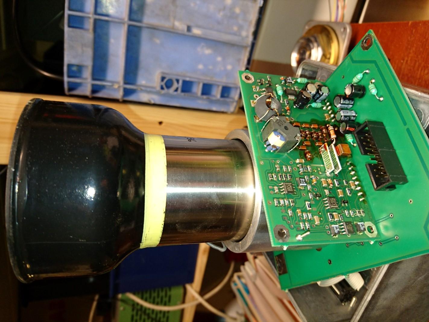 photomultiplier tube AGFA IUP3 inside