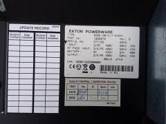 Eaton PowerWare 9255 UPS marking plate