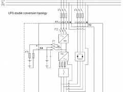 Eaton PowerWare 9255 UPS schematic