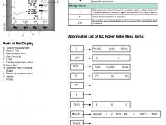 Merlin Gerin PM700 power meter datasheet