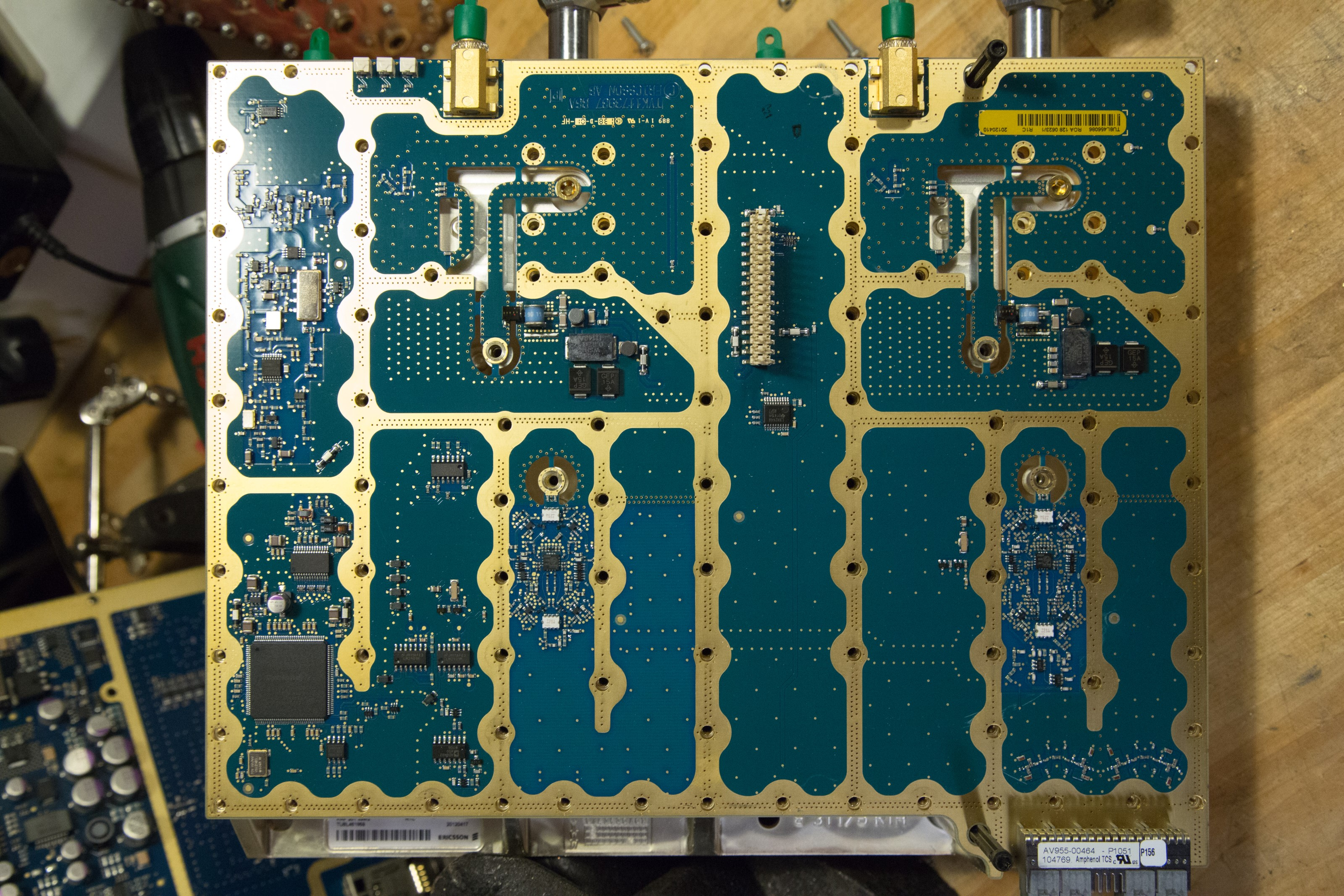 Kaizer Power Electronics High Voltage Enthusiasm Page 5 Master Slave Switch Eeweb Community That Board Also Have A First Generation Altera Cyclone Fpga Maybe Has To Do With The Connectors In Upper Right Corner Near All Pcb Cut Outs And