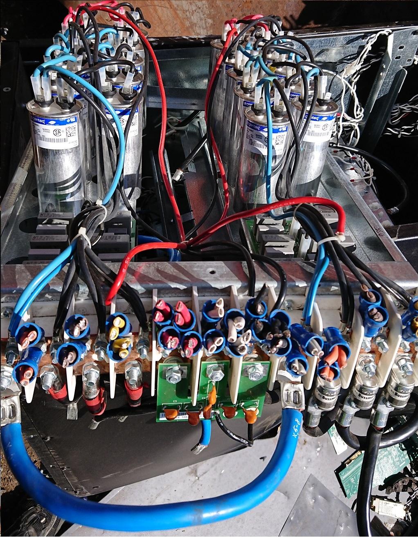 Eaton PowerWare 60 kVA UPS capacitor