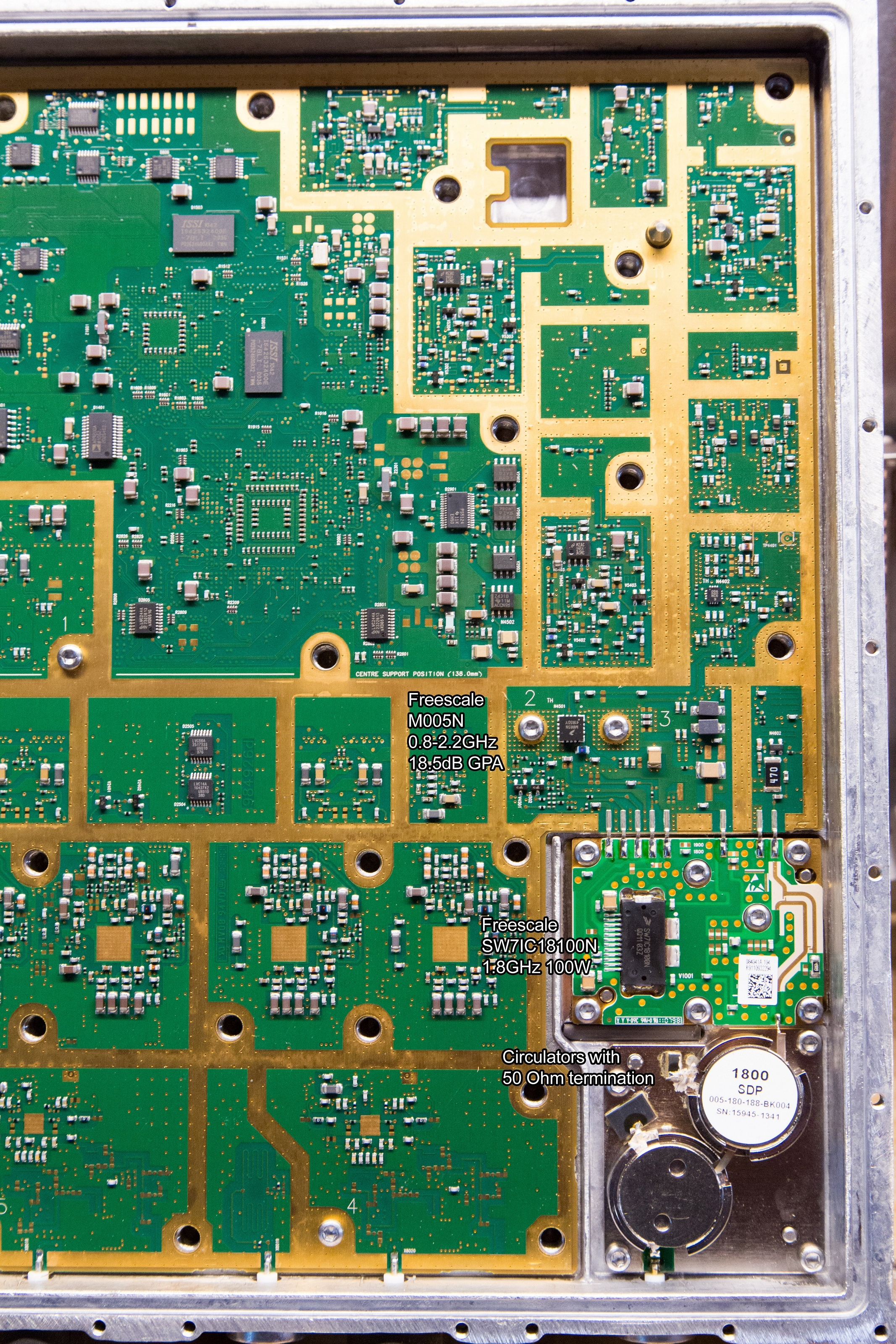 Nokia Siemens Networks Flexi BTS base station amplifier