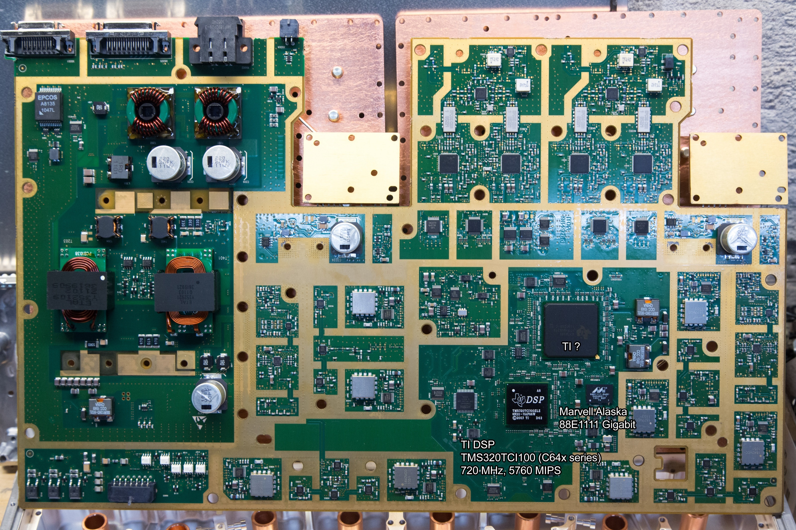 Nokia Siemens Flexi BTS base station teardown: Circuit