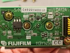 fujifilm fcr xg-1 laser scanner module