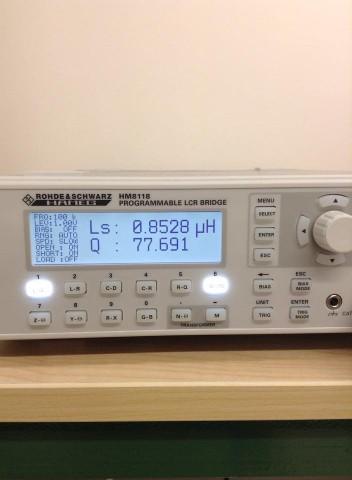rohde & schwarz HM8118 LCR meter