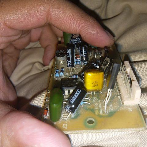 224K yellow capacitor