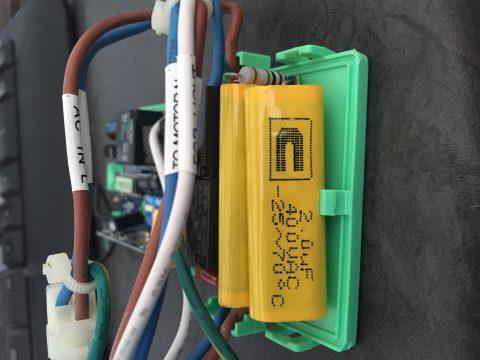 2.0uF 400VAC yellow capacitor