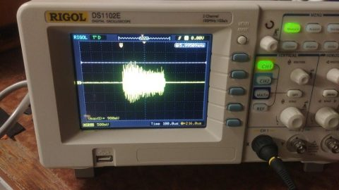 tesla coil waveform