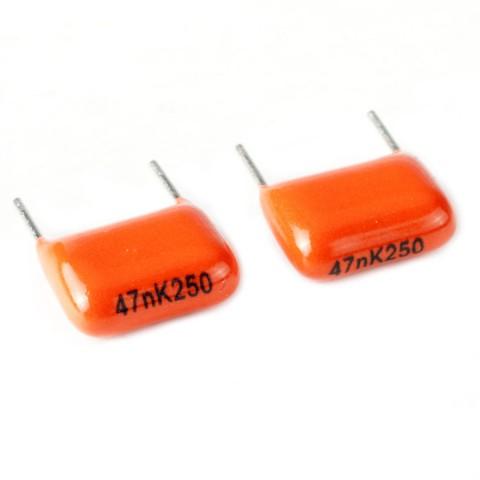 47nK250 orange capacitor