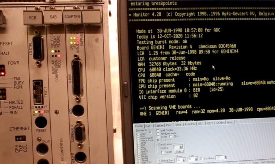 Agfa ADC 5155 Motorola 68K Computer Teardown (Part 2 of 4)