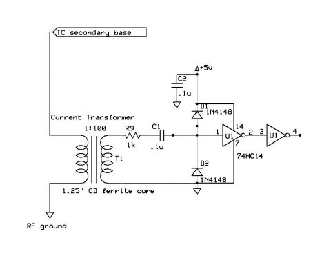 tesla coil sstc feedback current transformer schematic