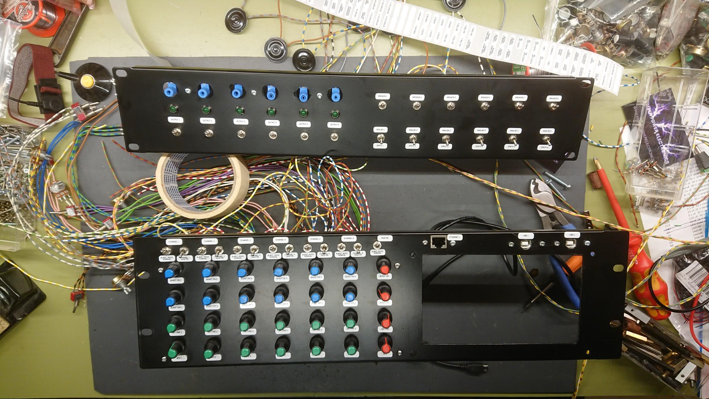 6 Channel DRSSTC Show Controller
