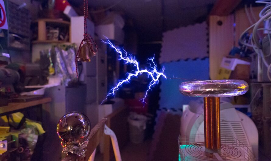 Example – Changed the Way You Kiss Me, on a Musical Tesla Coil