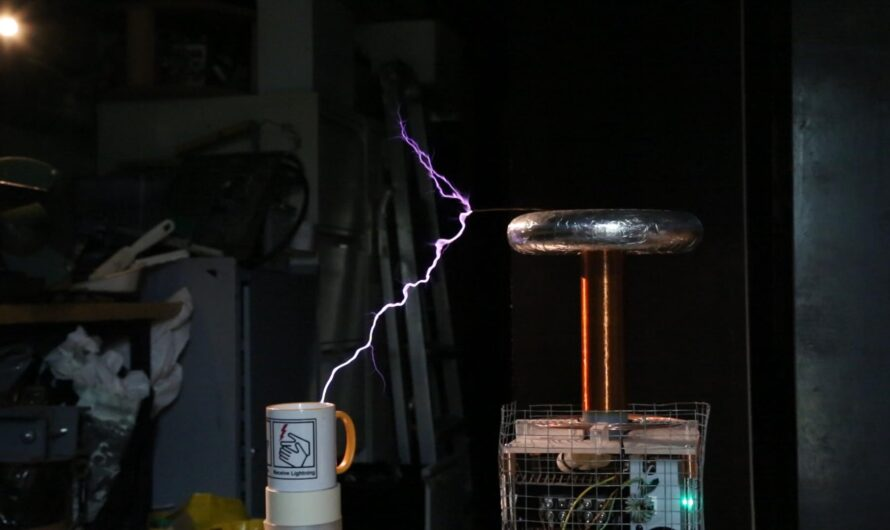 Portal – Still Alive, on a Musical Tesla Coil
