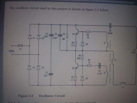 oscillator circuit schematic