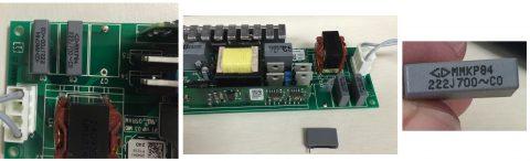 MMKP84 222J700 grey capacitor
