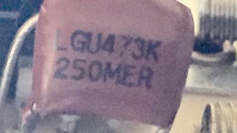 LGU473K 250MER capacitor