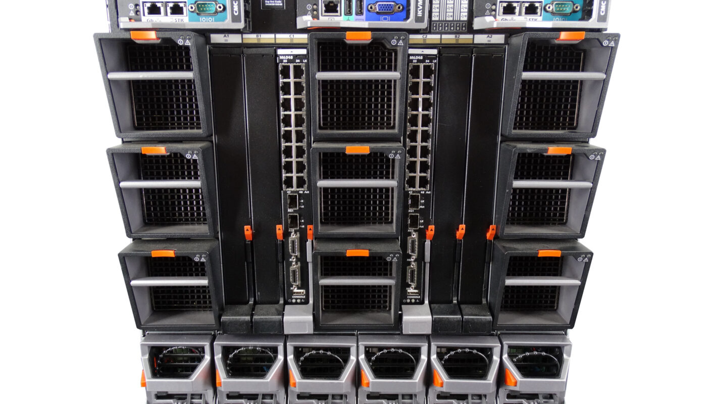 Dell PowerEdge M1000E Blade Server Teardown
