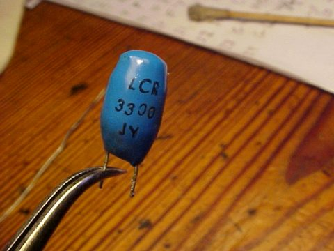 LCR 3300 JY inductor blue