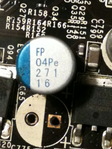 FP 04Pe 271 16 electrolytic capacitor