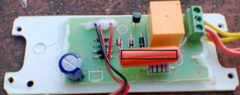 orange capacitor
