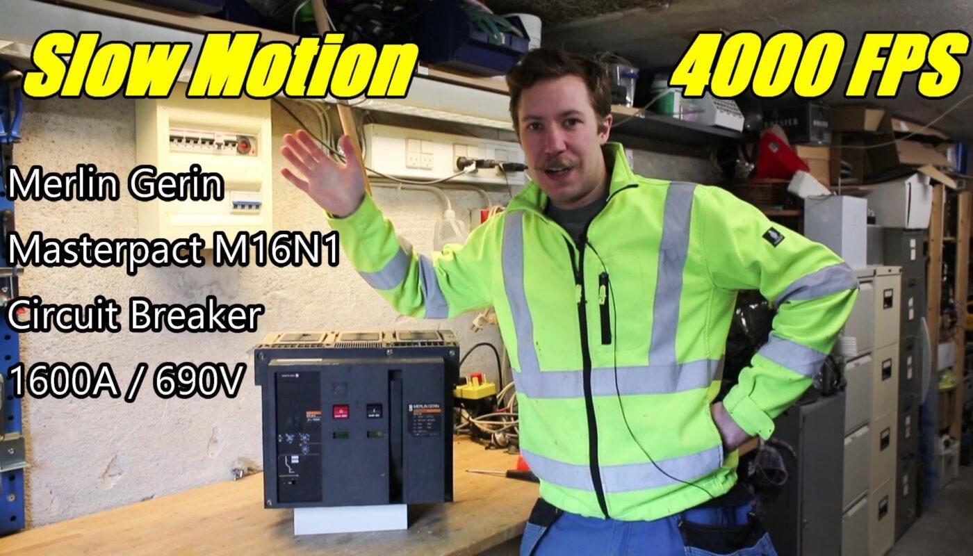 circuit breaker slow motion