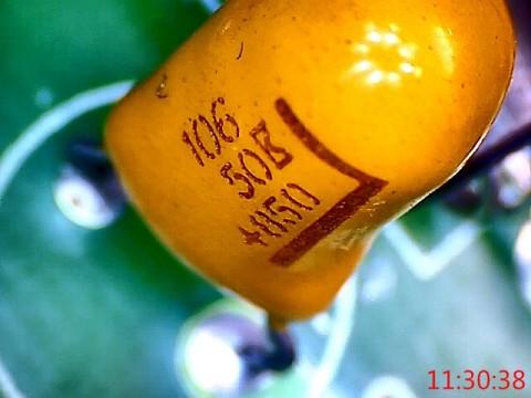 106 50 +050 yellow capacitor