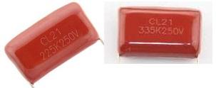 CL21 225K 335K 250V red capacitor