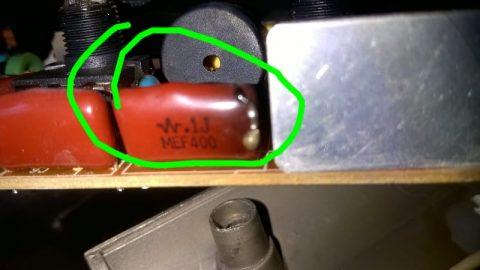 .1J MEF400 red capacitor