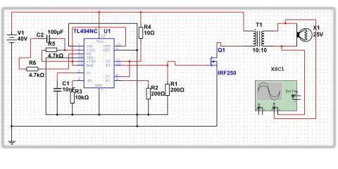 Royer induction heater schematic