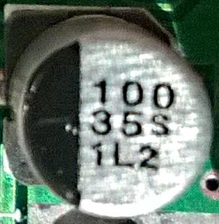 100 35S 1L2 capacitor