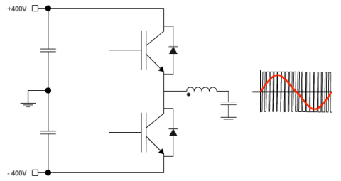 half bridge schematic
