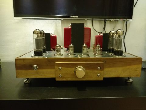 2x30W EL34 tube amplifier