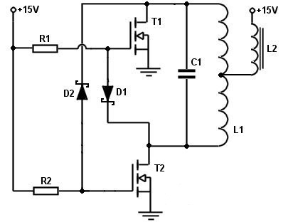 induction heater schematic