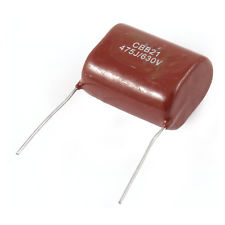 CBB21 475J630V red capacitor