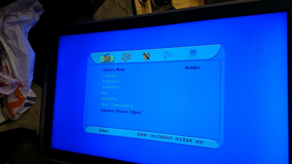 Sodium 40″ LCD TV repair