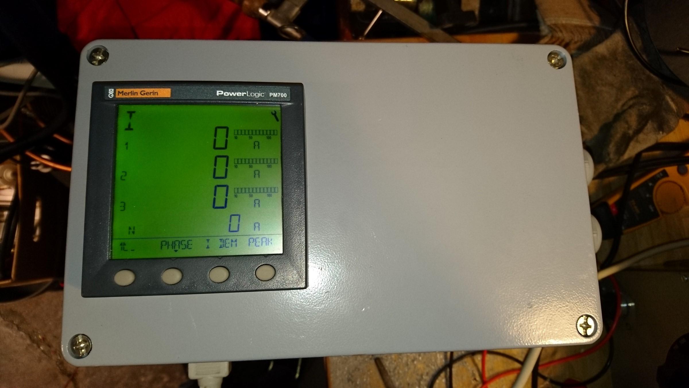 merlin gerin pm700 power meter