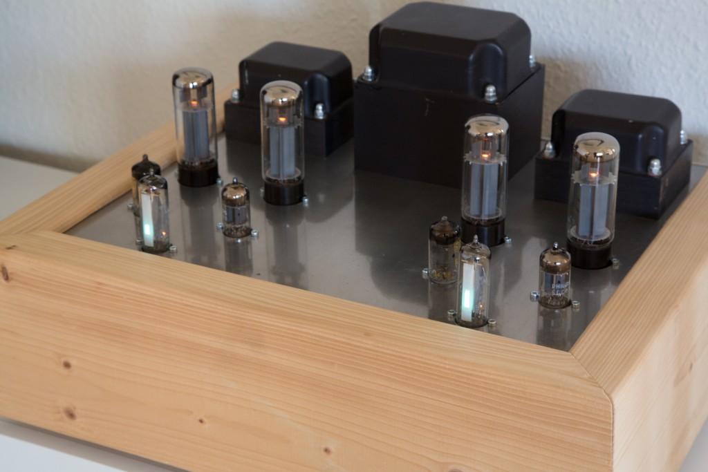 2x30W EL34 tube amplifier